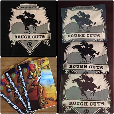 Ryan Chrys Rough Cuts shirt